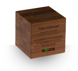 Bamboo Cube - Desktop Awards