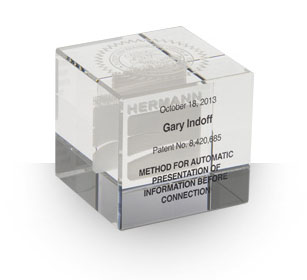 Crystal Cube - Desktop Awards